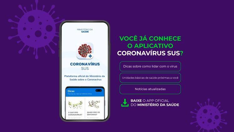 aplicativo coronavirus