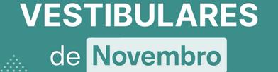 vestibulares novembro